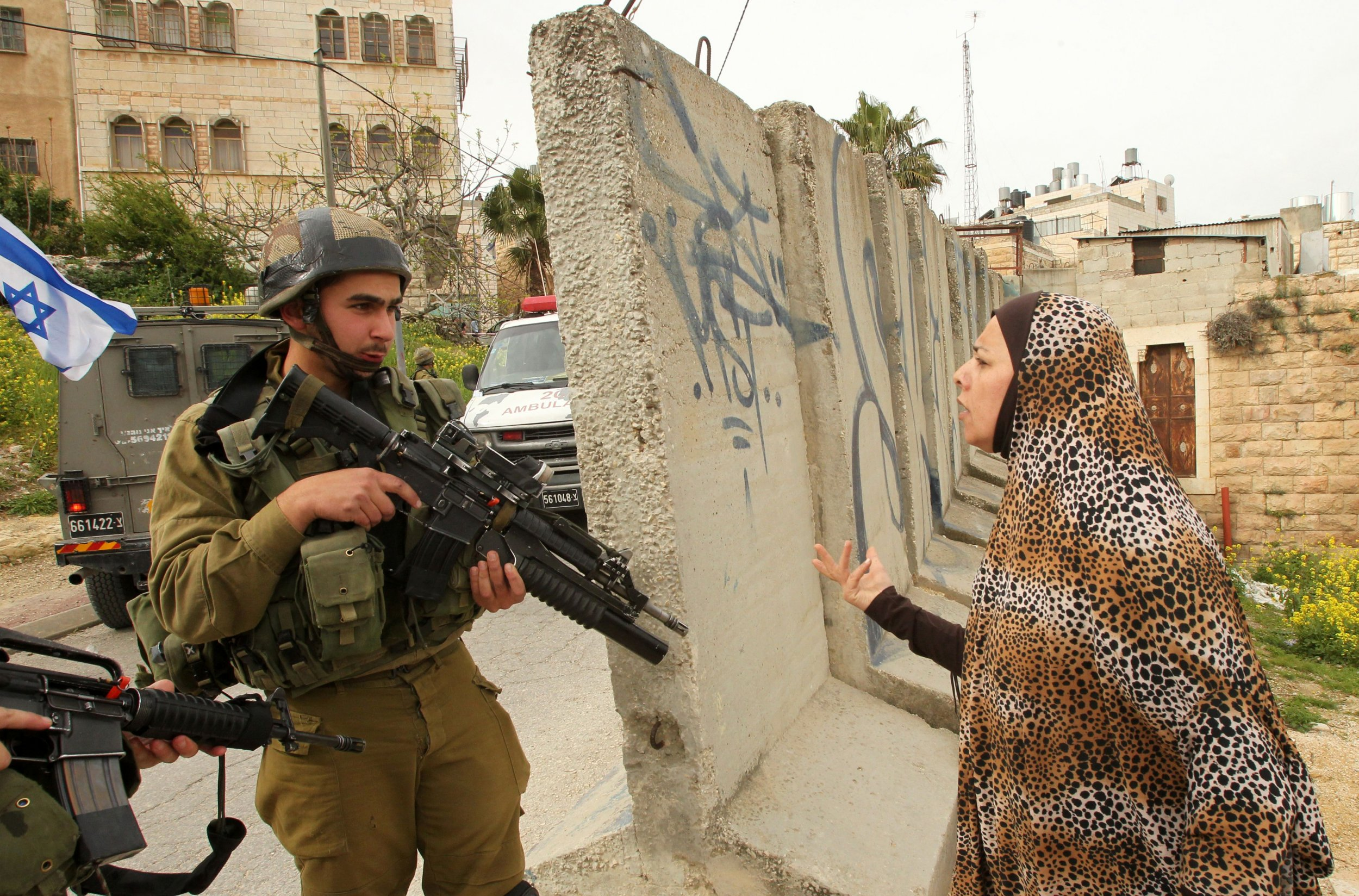 Israel West Bank Hebron