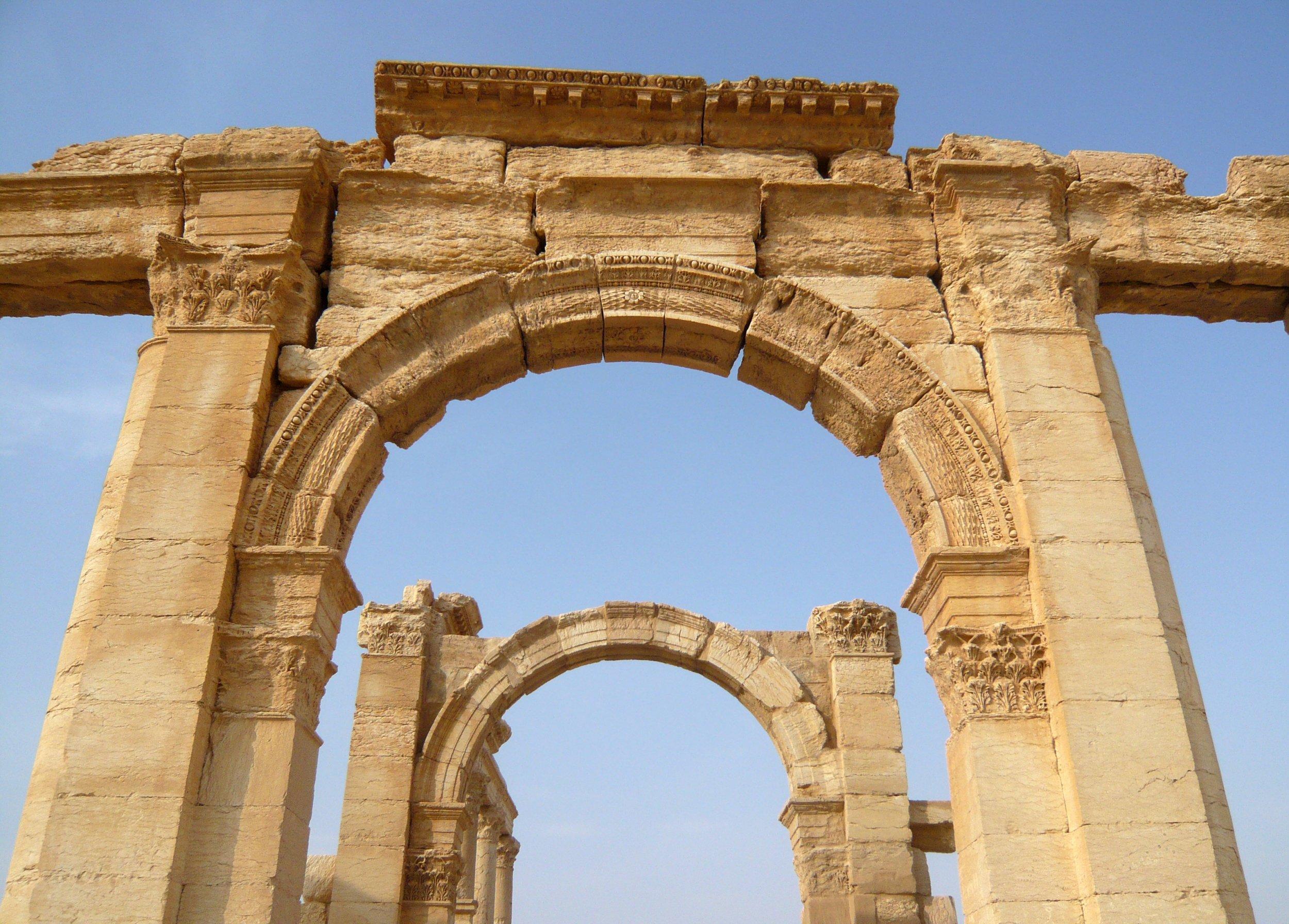 Arch in Palmyra