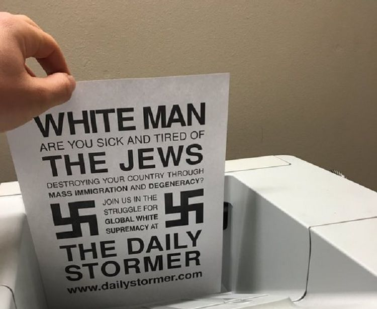 hackers nazi printer daily stormer weev hacking printers