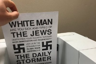 hackers nazi printer daily stormer weev hacking printers