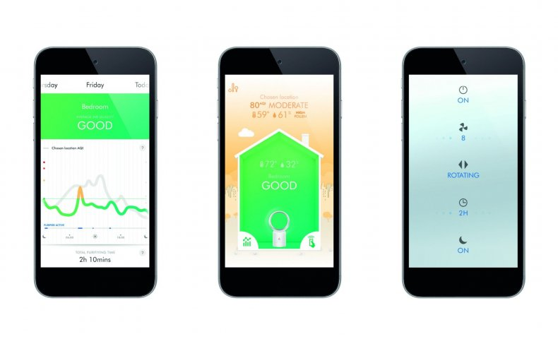Dyson Link app smart home