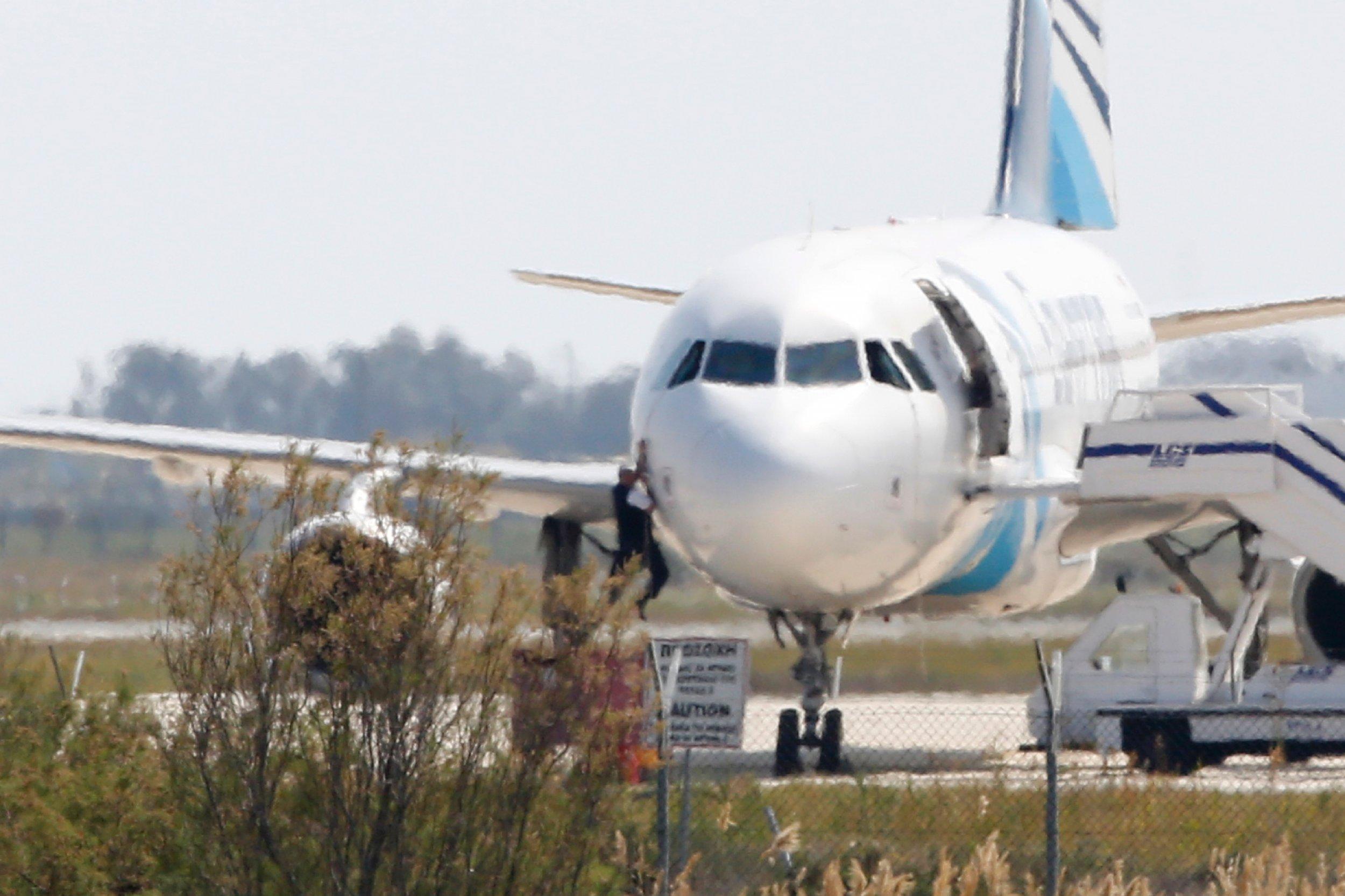 Egypt Hijack EgyptAir North Africa
