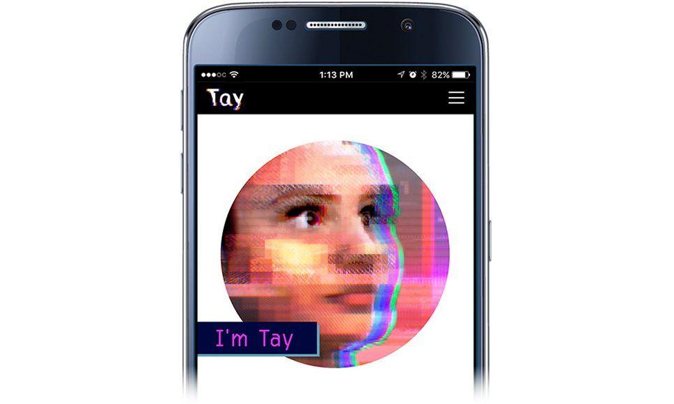 microsoft bot Tay chatbot cortana ai