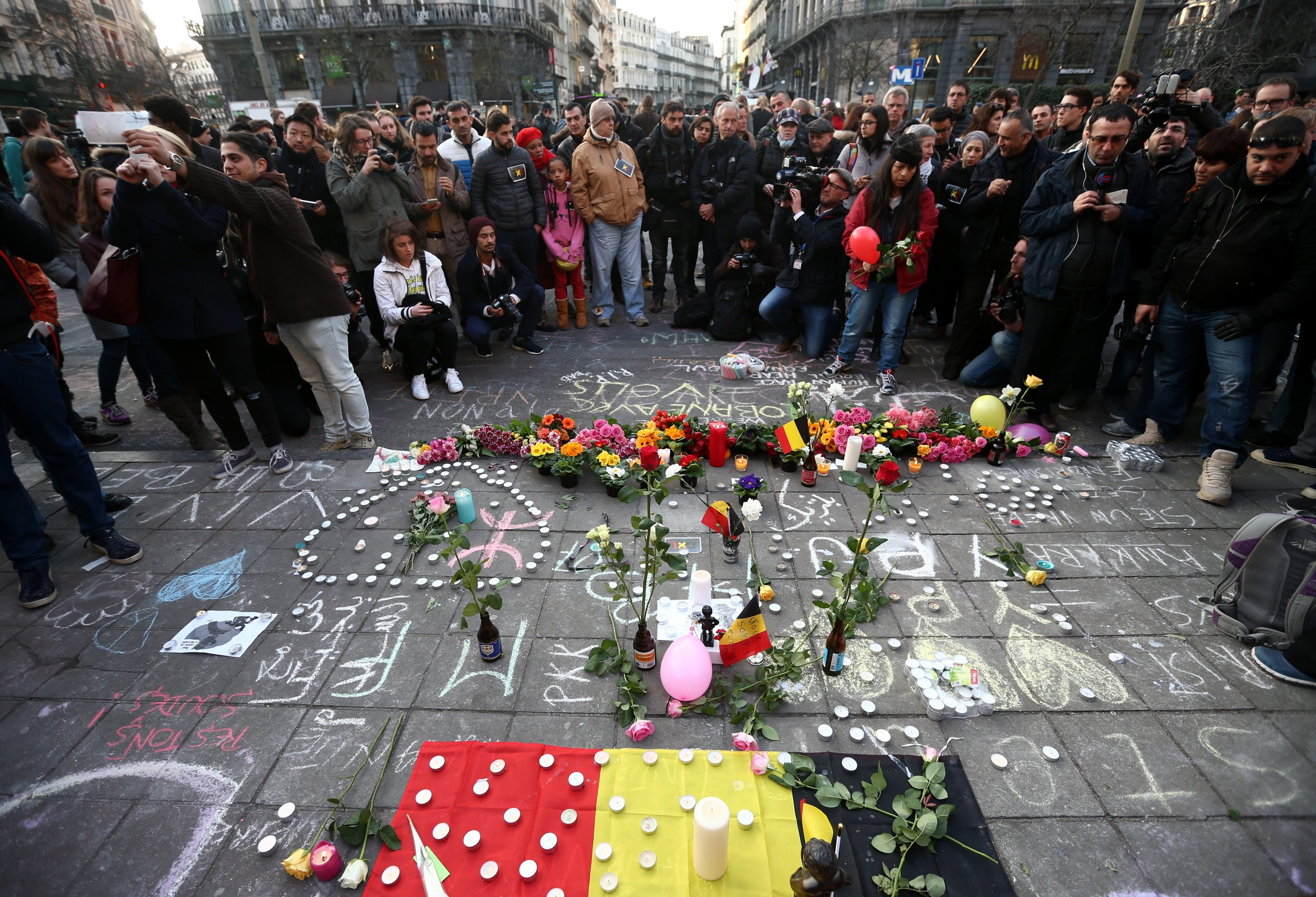 Brussels Attacks ISIS Europe