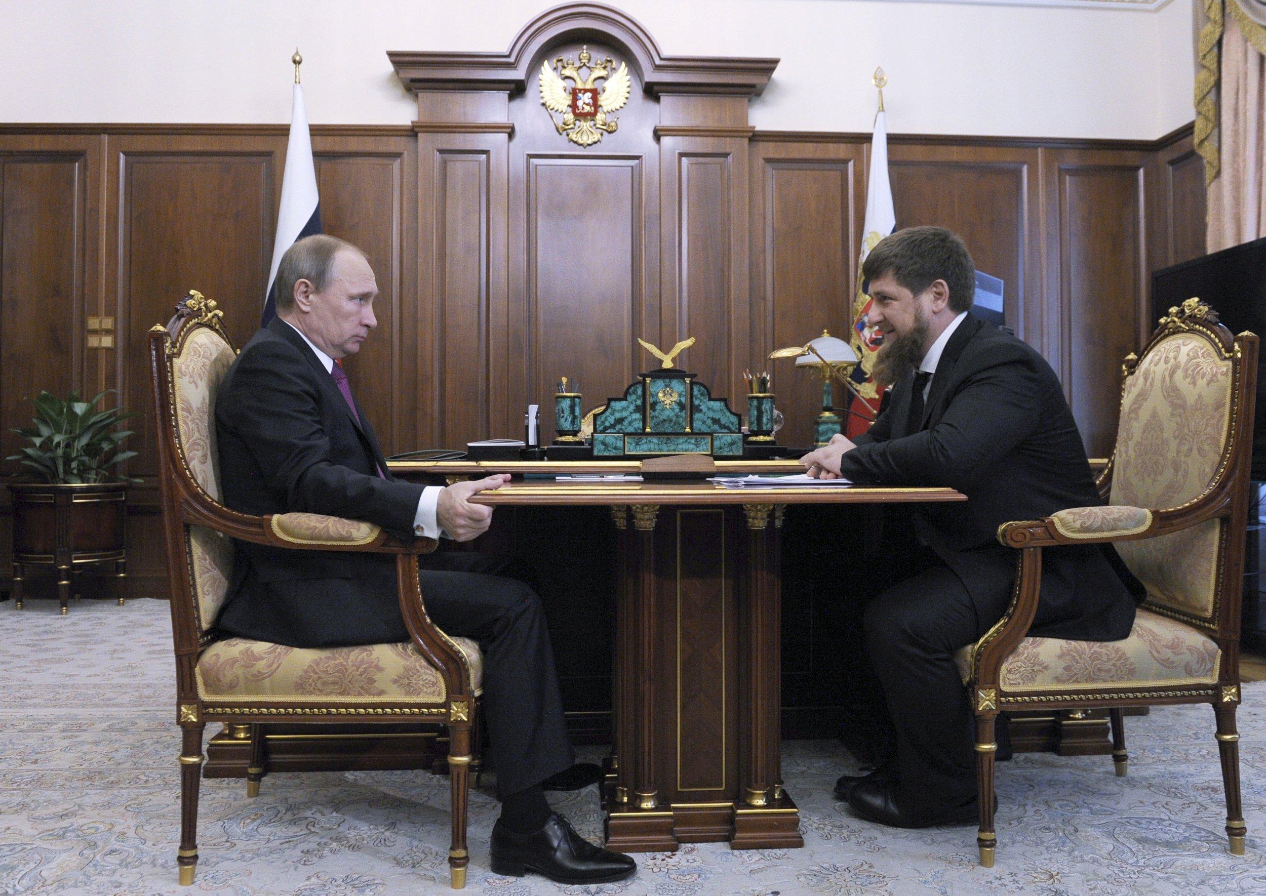 Putin Kadyrov