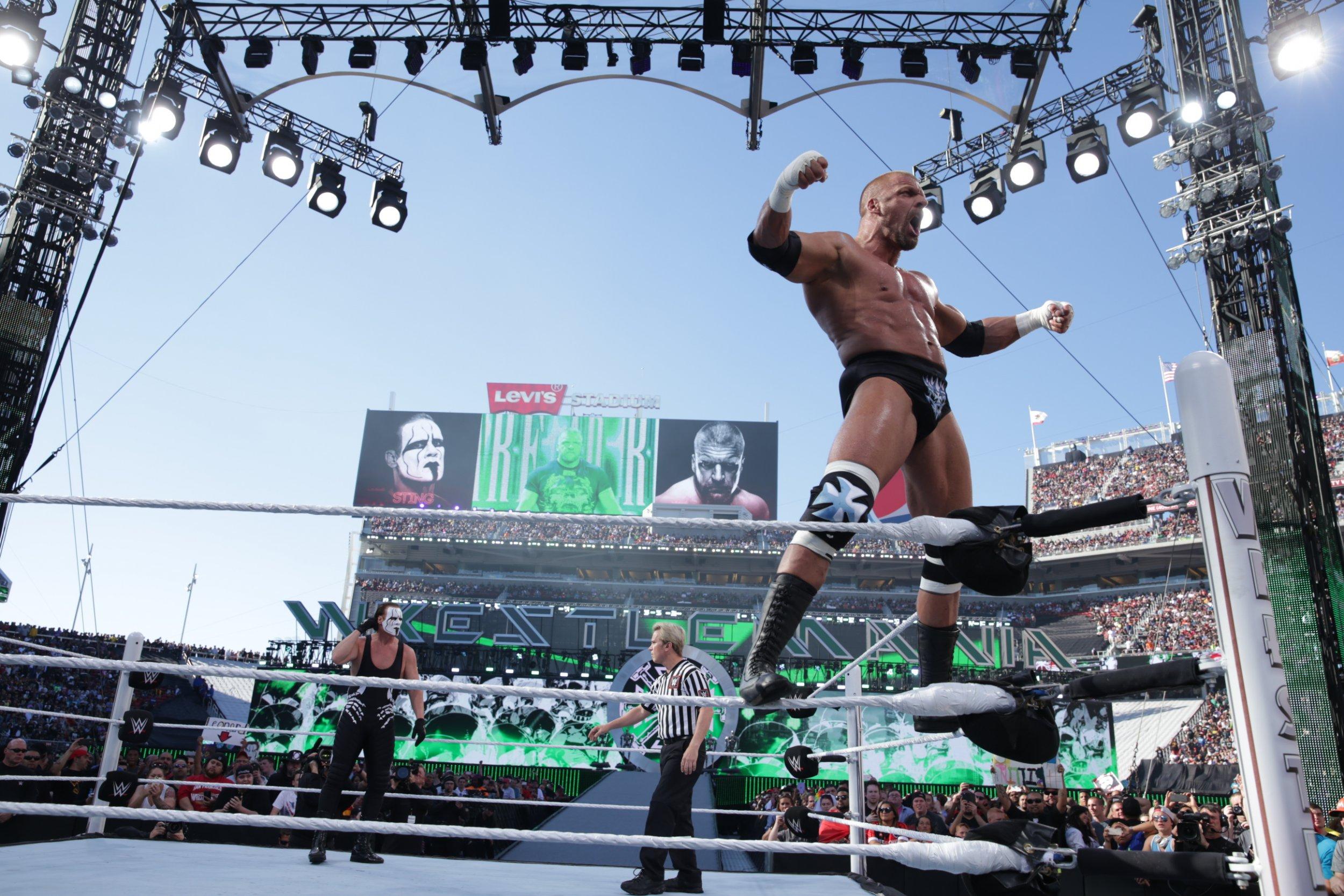 Triple H at WrestleMania 31