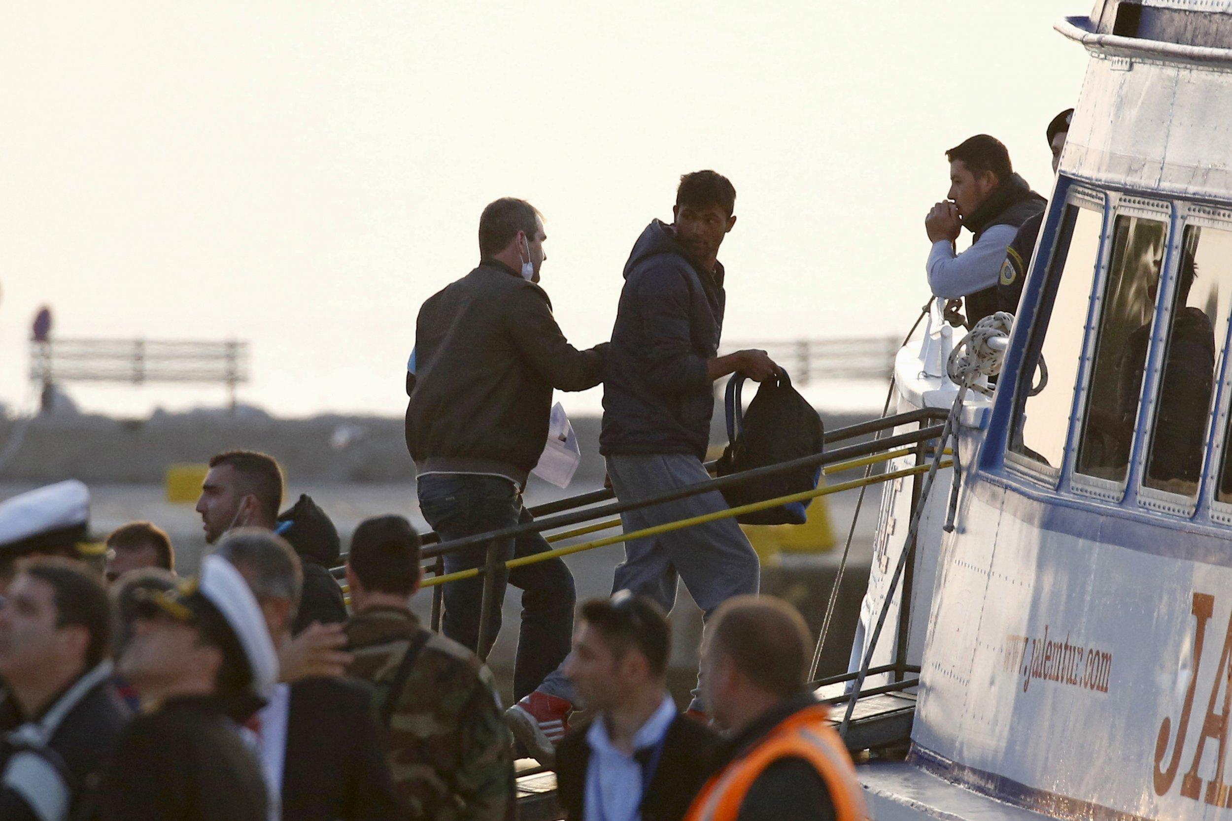 Refugee deportation