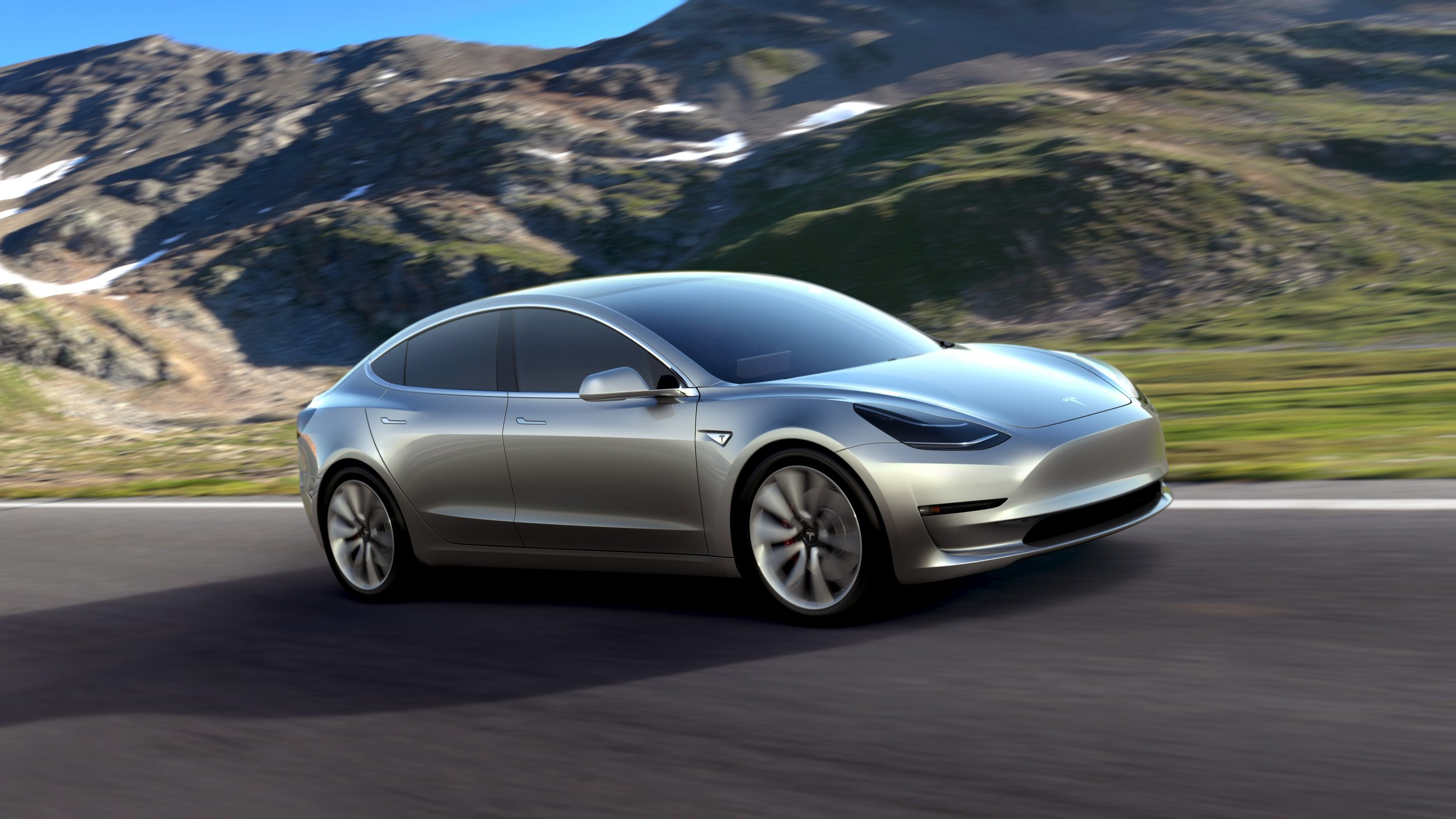 Tesla Model 3 Elon Musk Most Por Electric Car