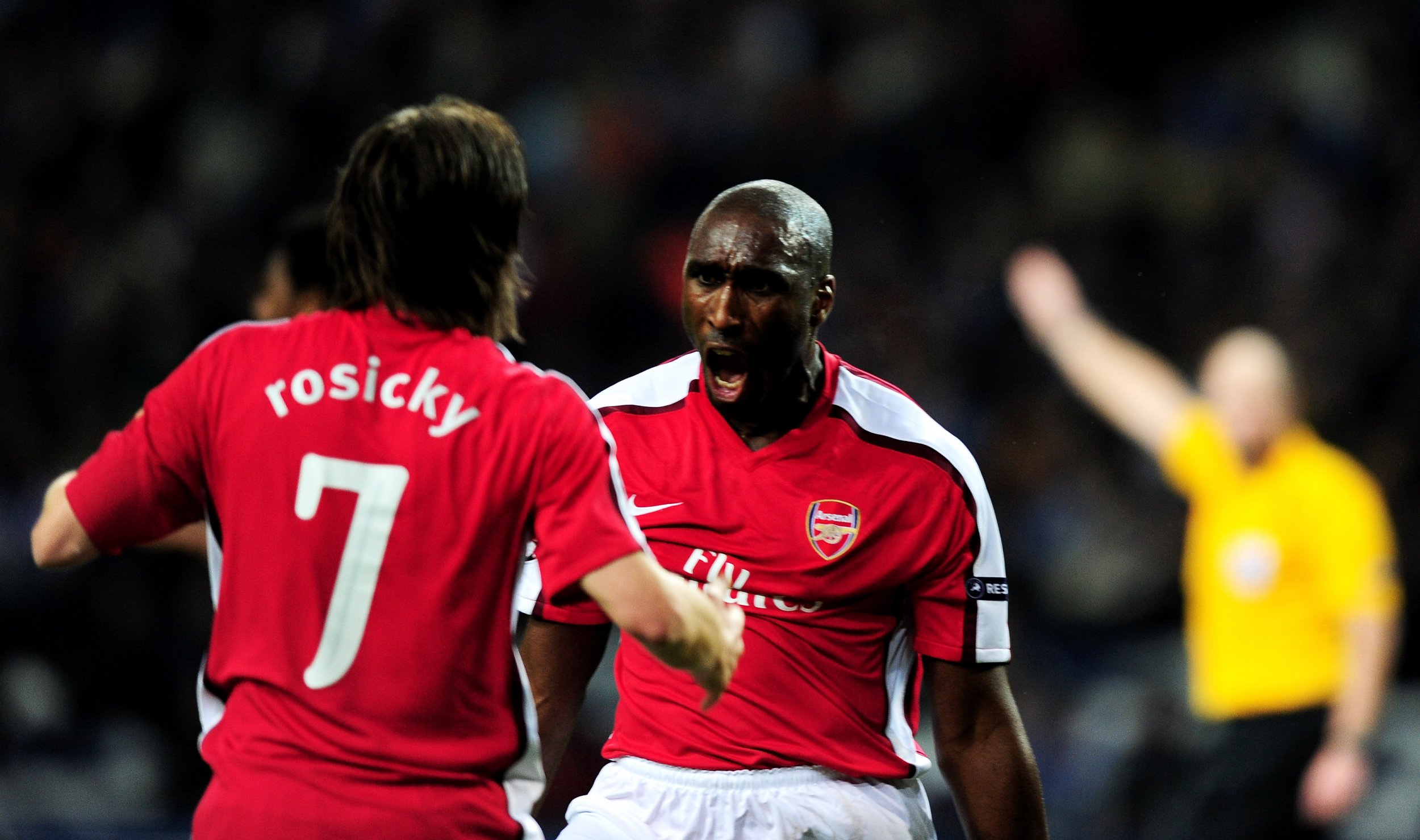 Former Arsenal defender Sol Campbell, right, has backed Brexit.
