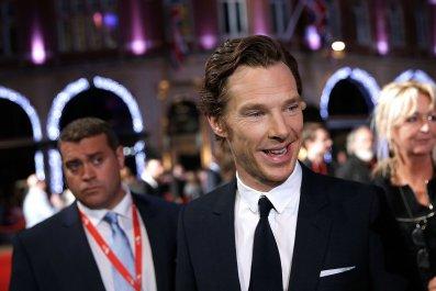 Benedict Cumberbatch at Black Mass premiere