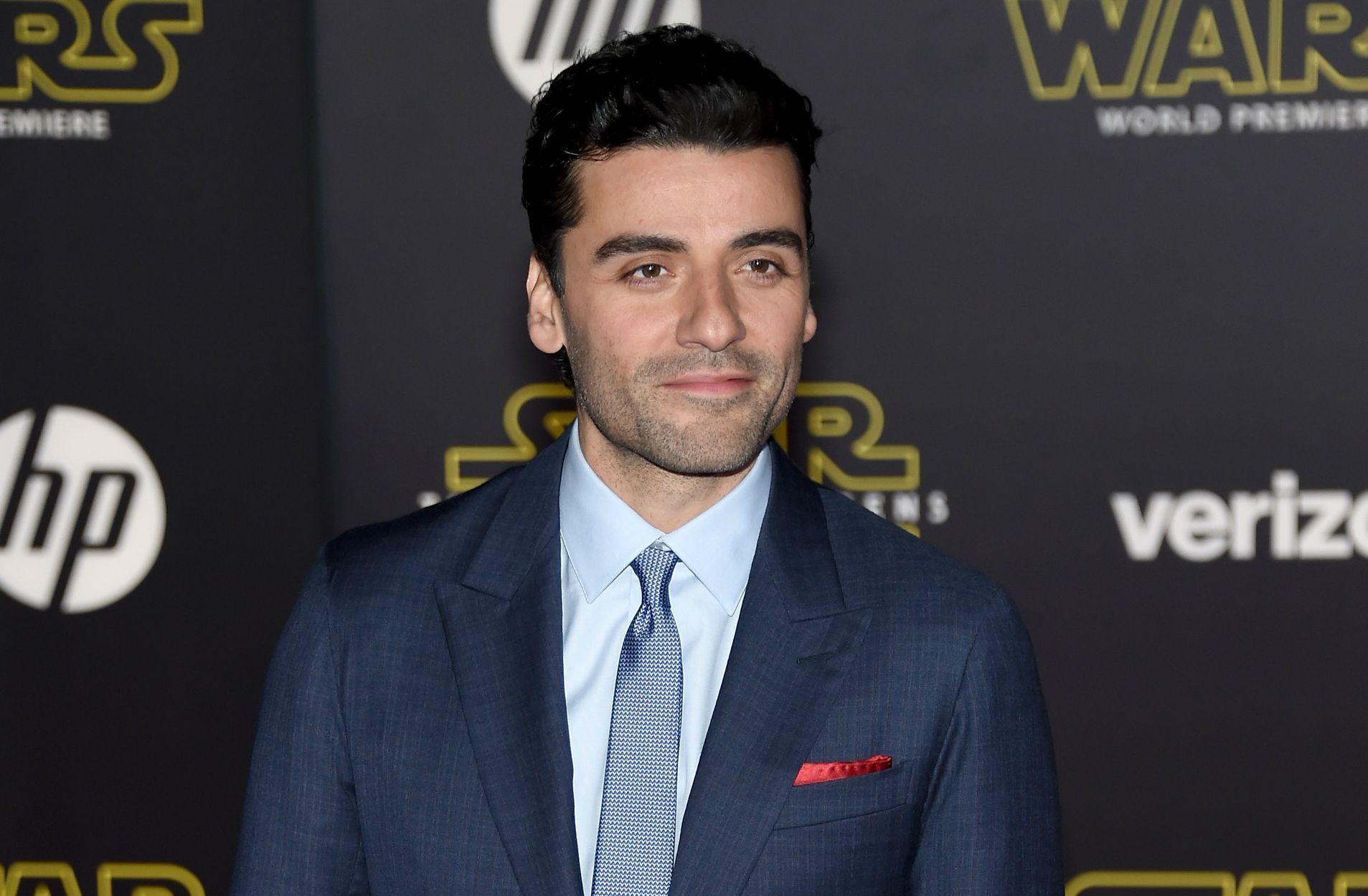 Oscar Isaac at Star Wars premiere