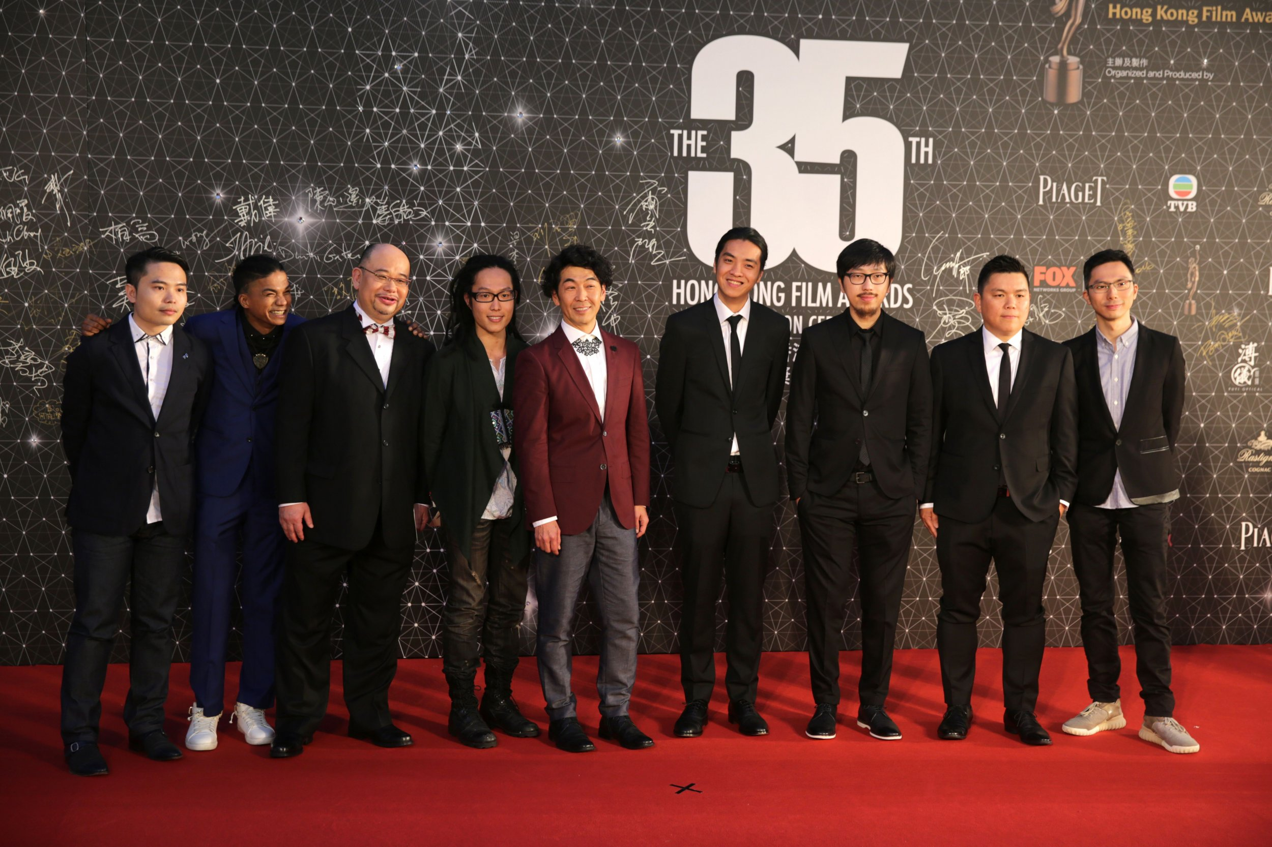 Ten Years cast at Hong Kong Film Awards