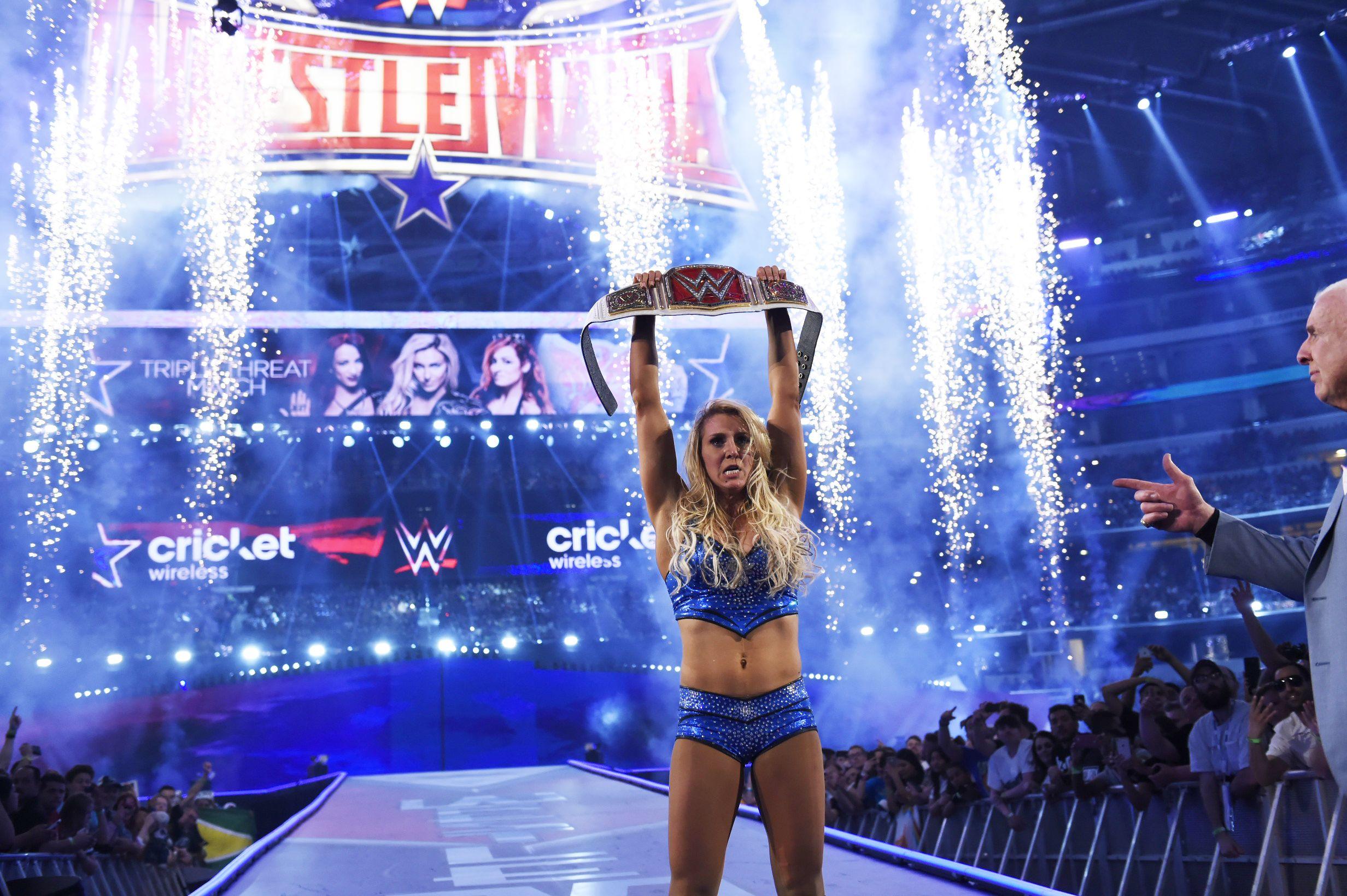 Charlotte at WrestleMania