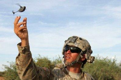 drones us army black hornet mini