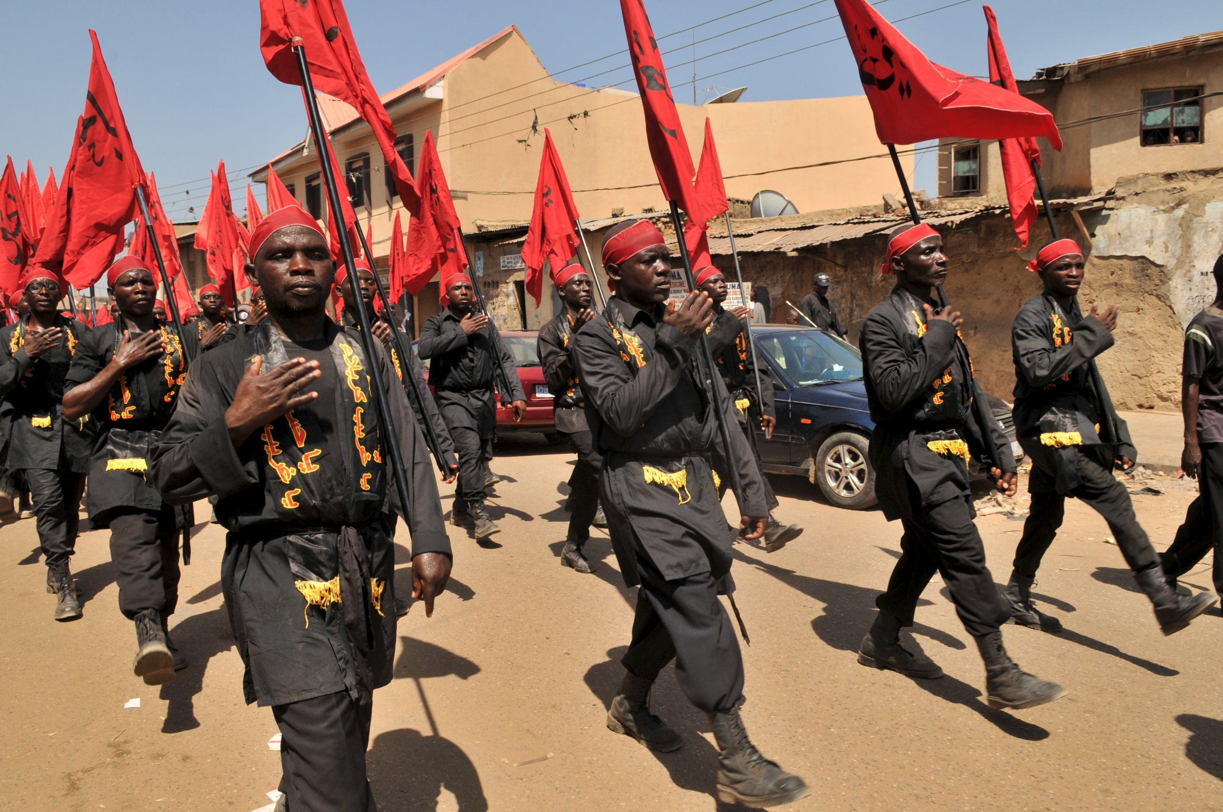 Nigerian Shiites mark the festival of Ashura in Kano.