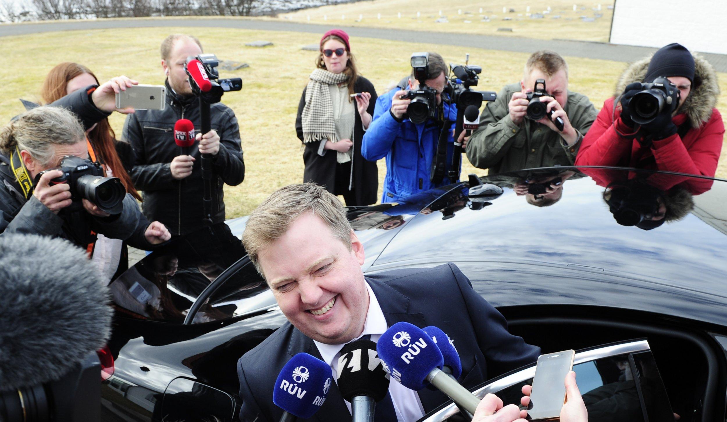 05/04/2016_Iceland Sigmundur David Gunnlaugsson