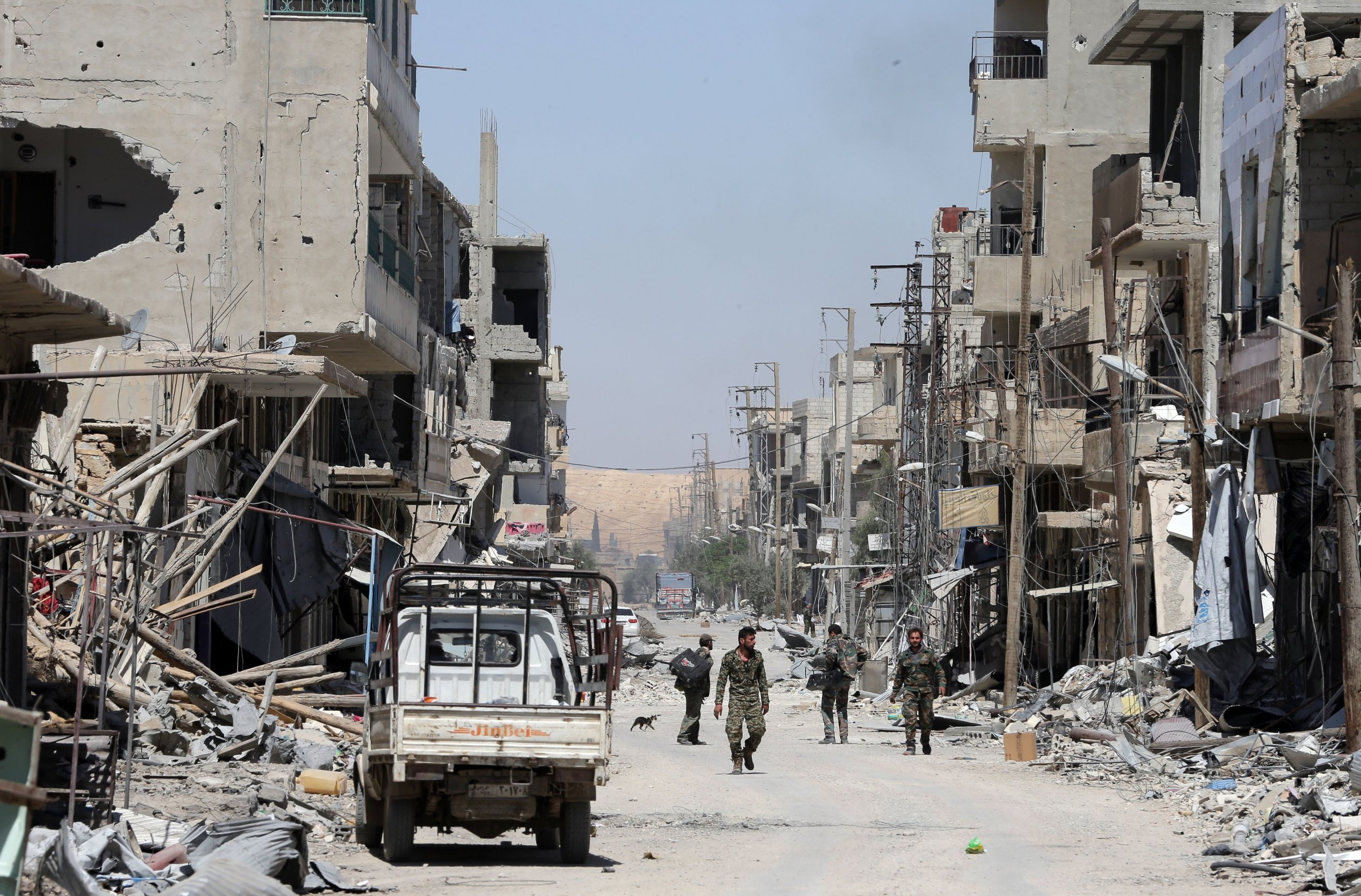 Syria ISIS Chemical Middle East