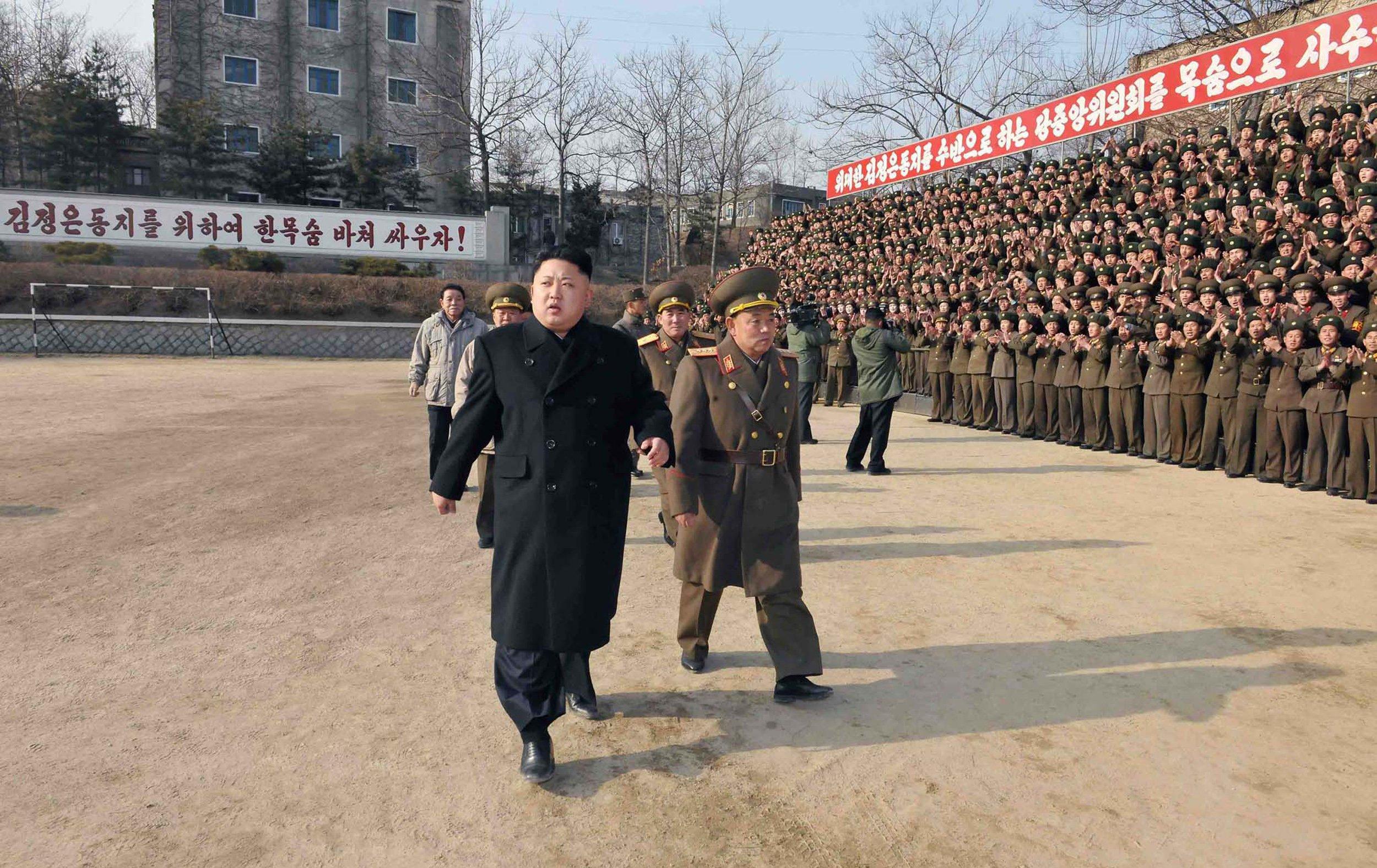 North Korea South