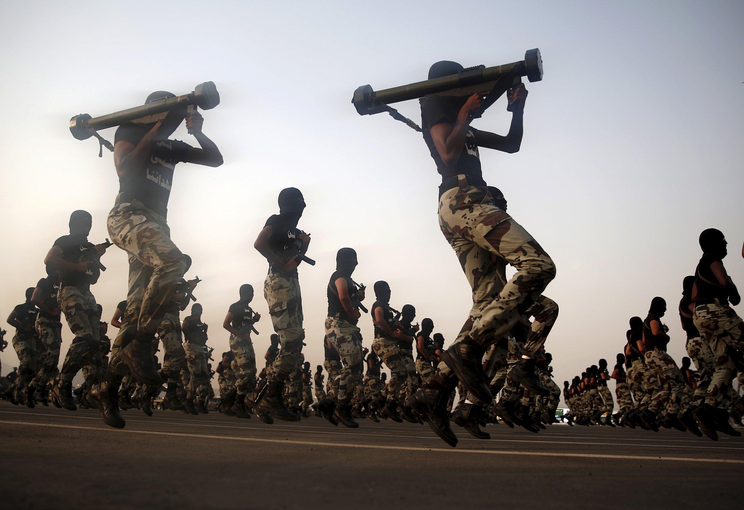 Saudi Arabi soldiers