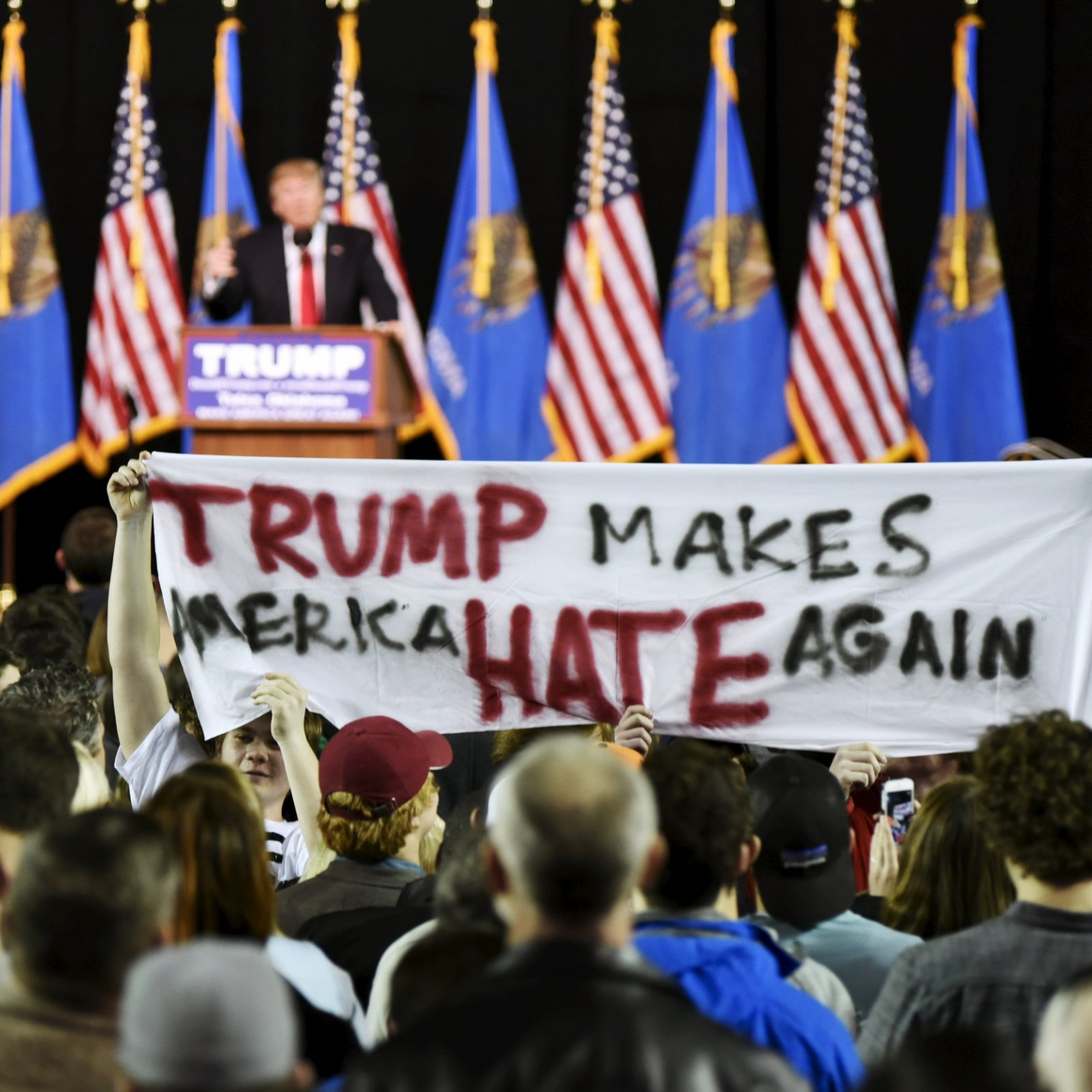 Snakes, Bugs and the KKK Lead Trump's Code of Hate