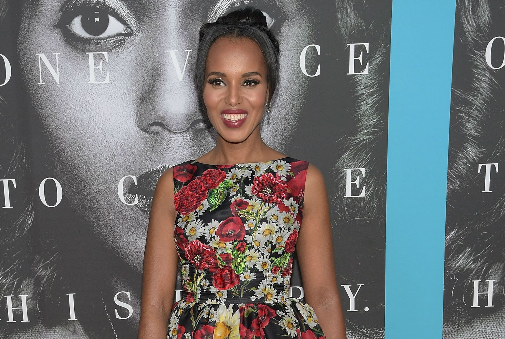 Kerry Washington at Confirmation premiere
