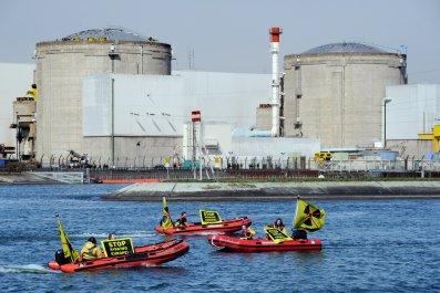 Tesla Model 3 European Factory nuclearn plant