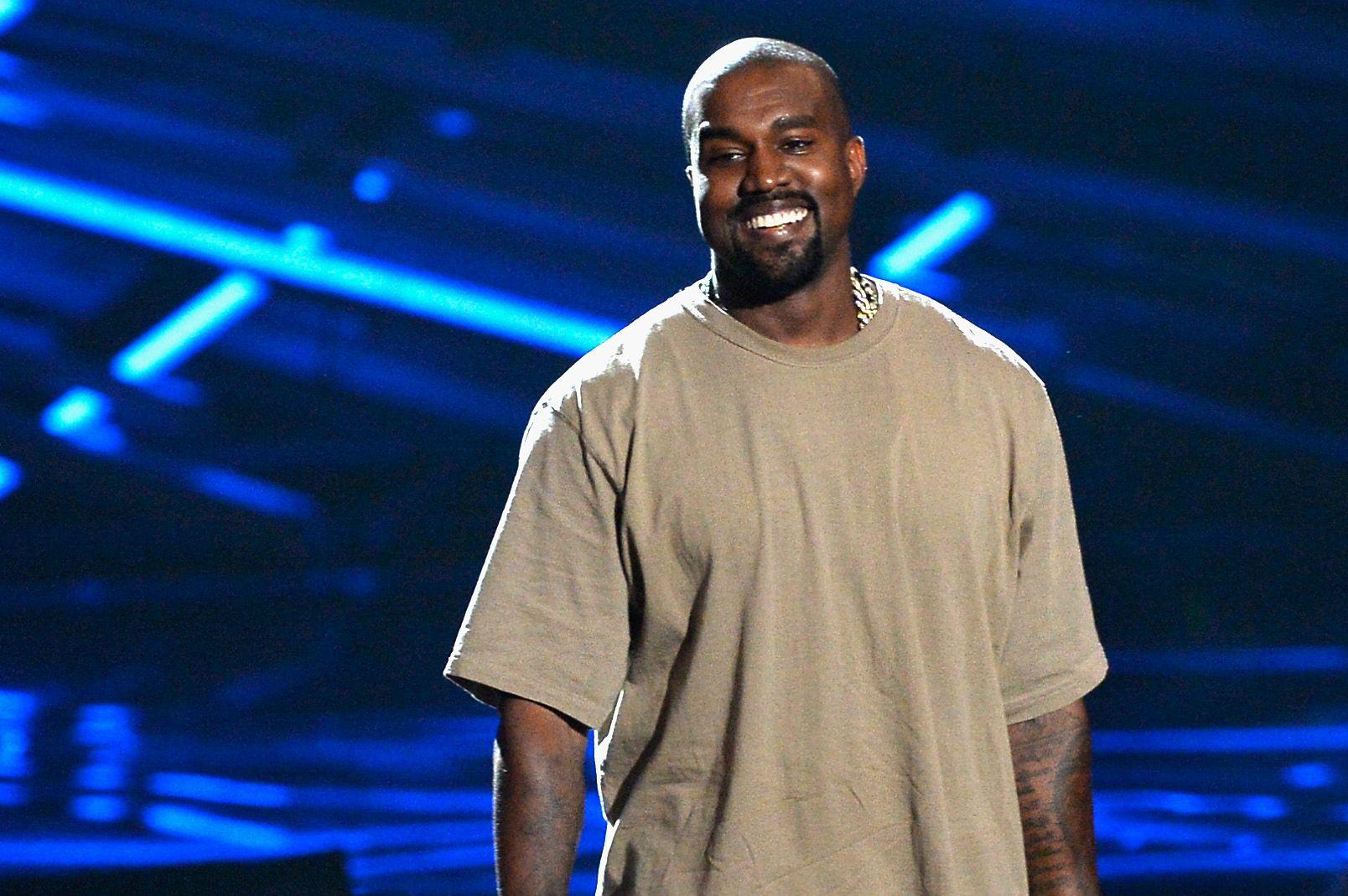 Kanye at 2015 MTV VMAs
