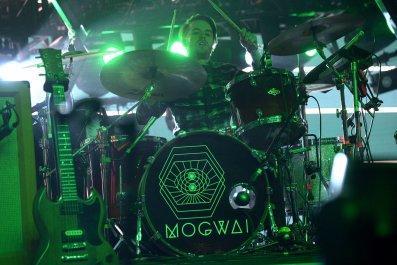 Mogwai perform at Coachella