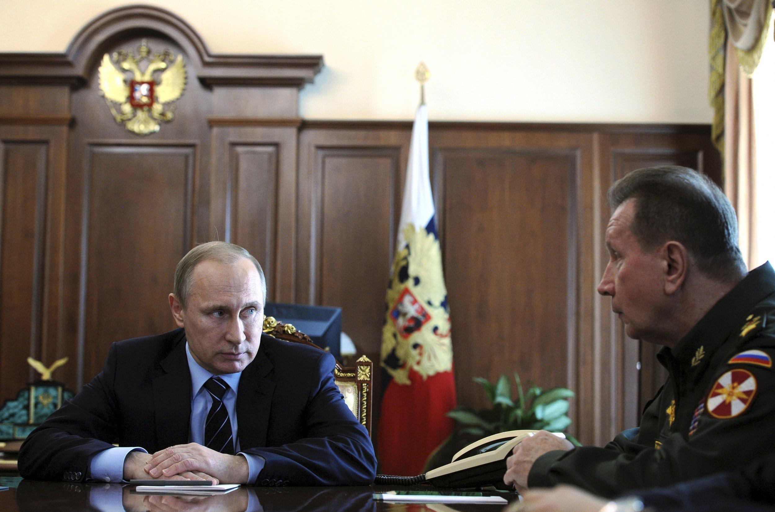 Putin and Zolotov