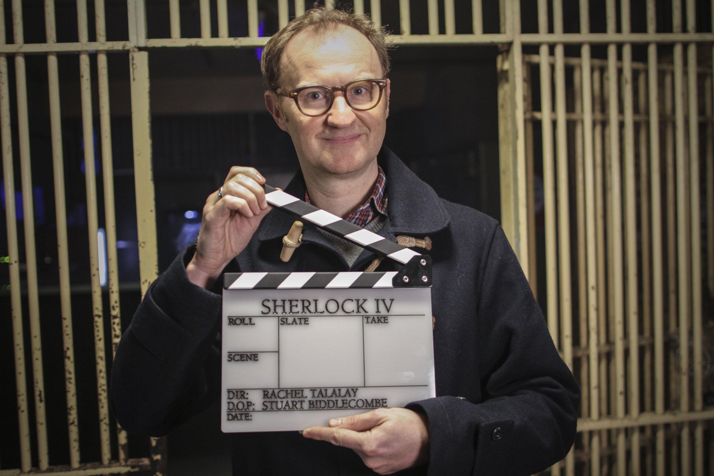 Sherlock season 4 begins production