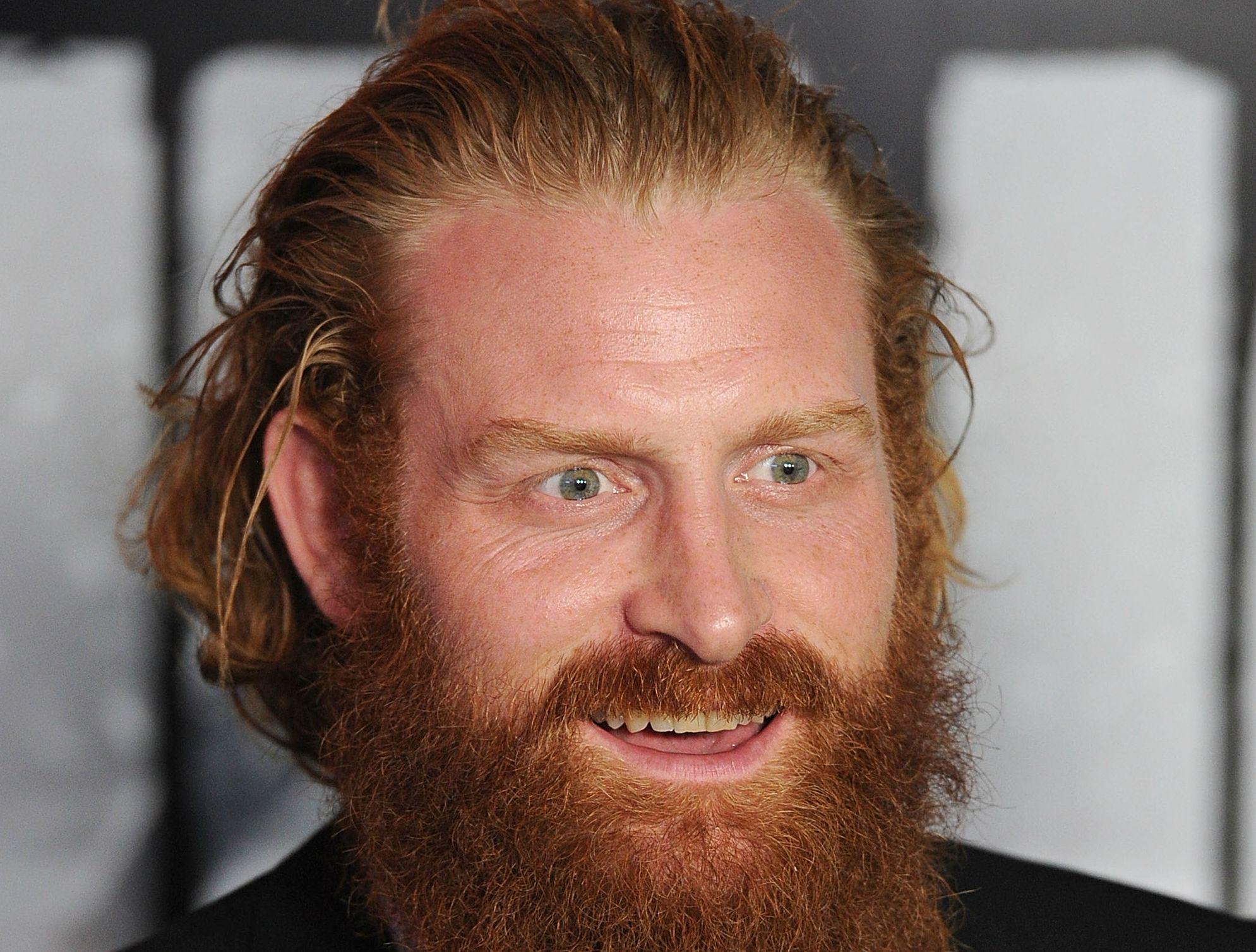 Kristofer Hivju from Game of Thrones