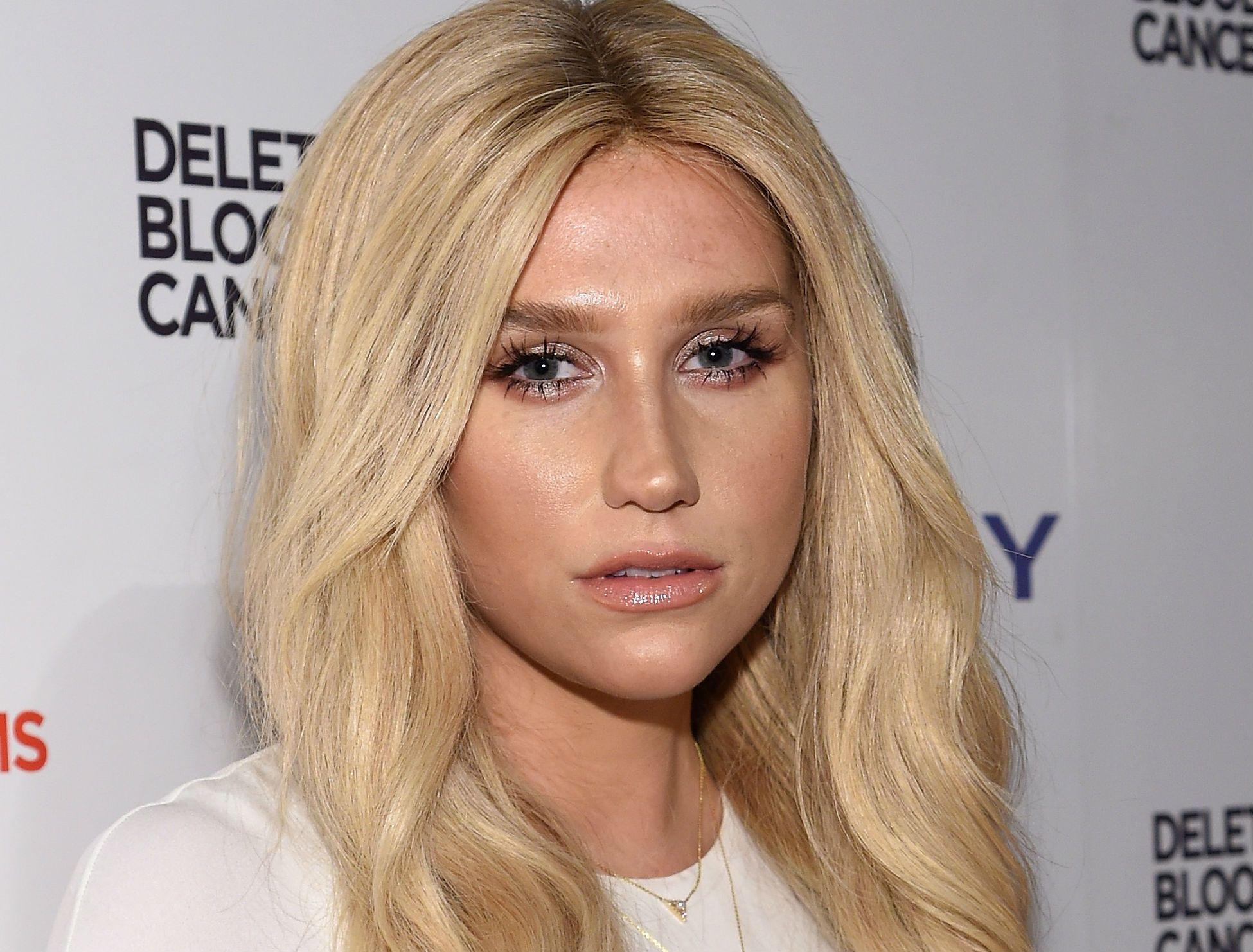 Kesha at Delete Blood Cancer Gala