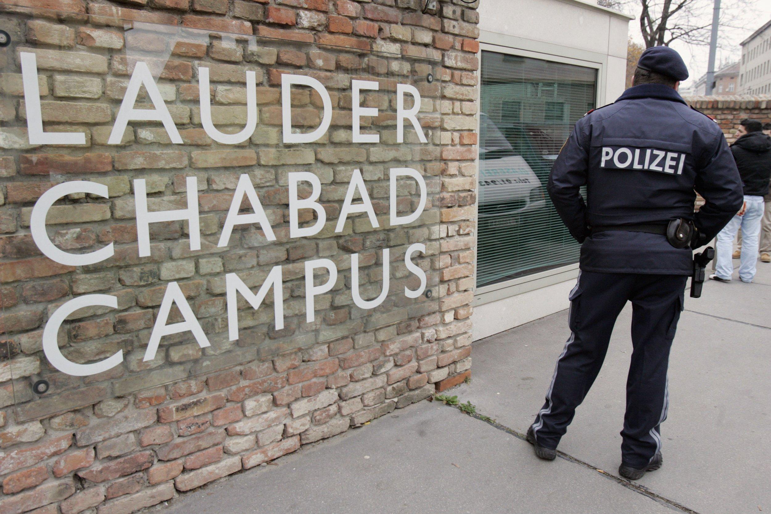 Police Austria Anti-Semitism