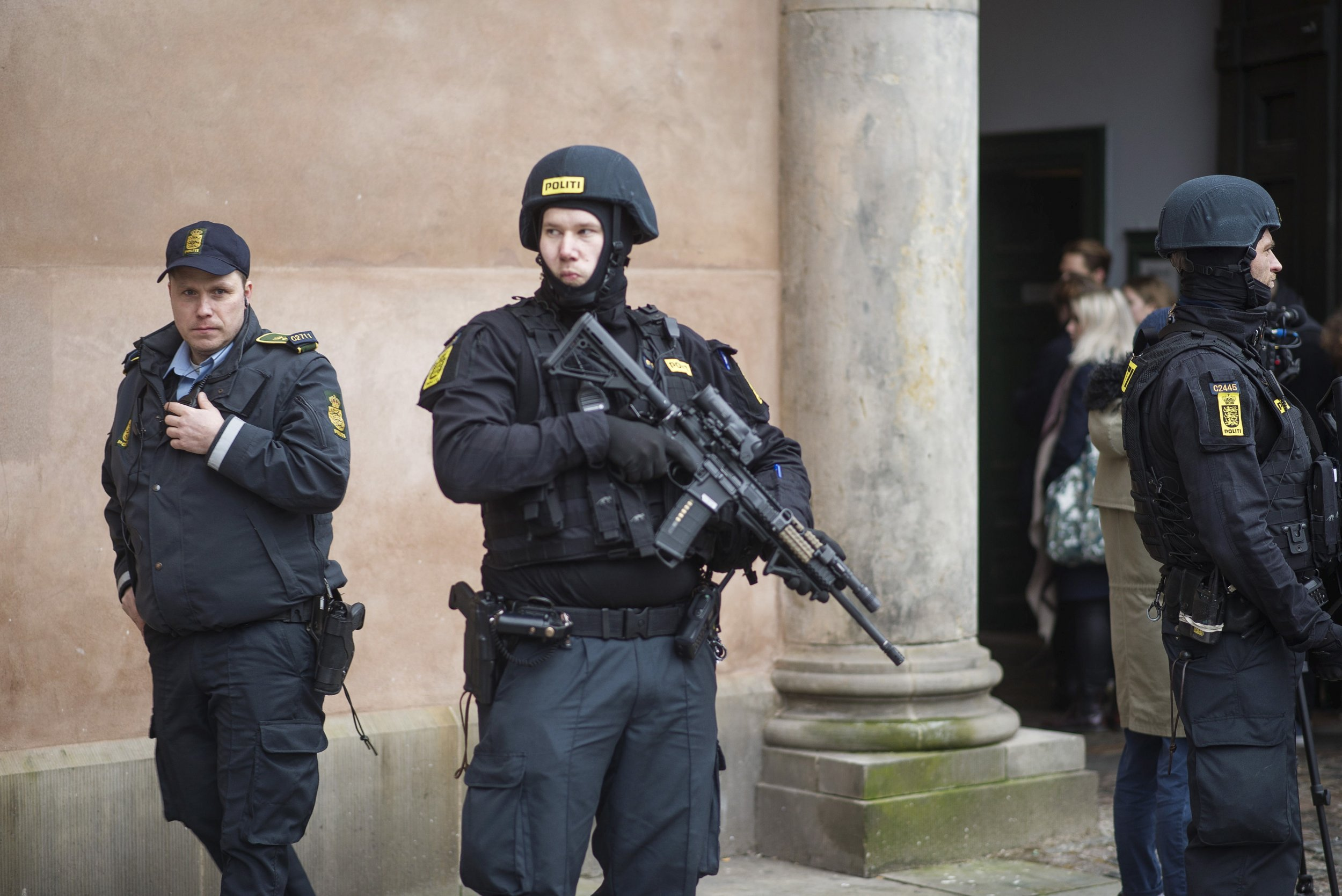 Denmark Europe Police ISIS