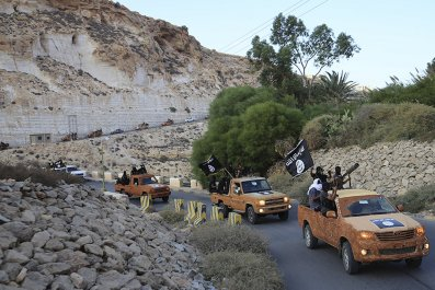 ISIS Derna Libya North Africa
