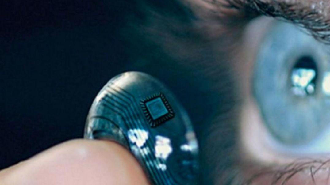 smart contact lens samsung patent camera