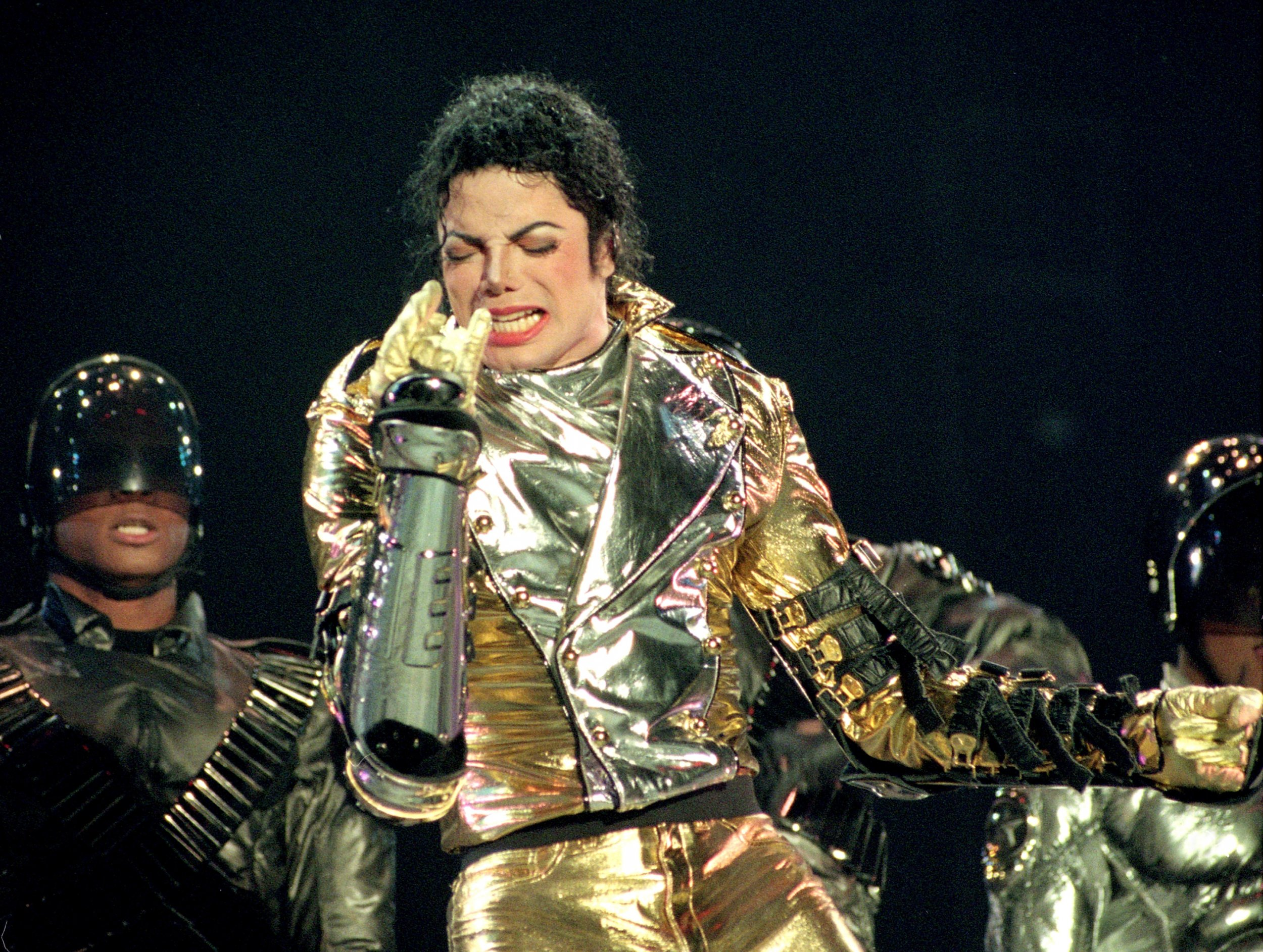 Michael Jackson  Beat It  Live Auckland 1996  HD