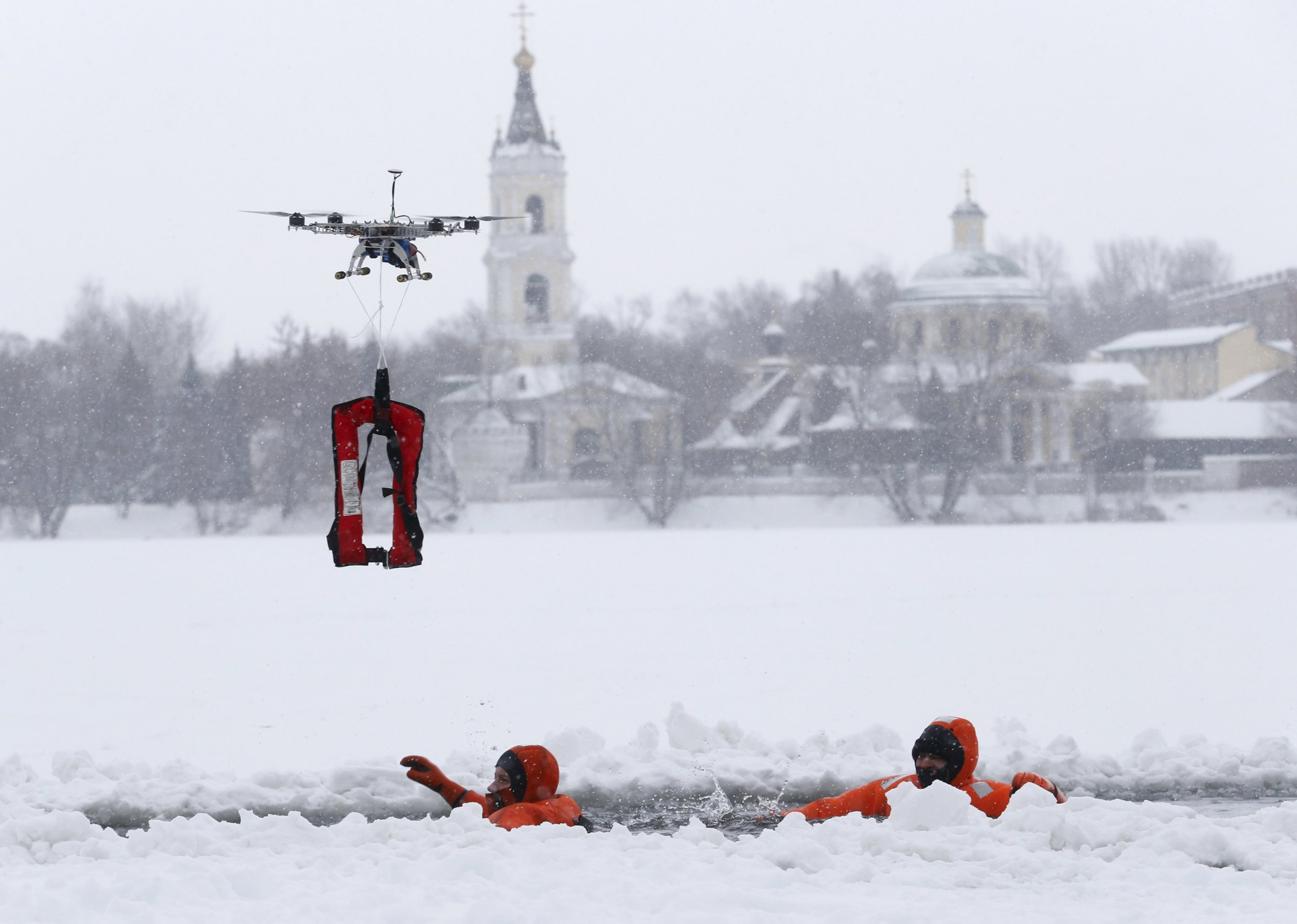 Firefighting Criminal Chasing Rescue Drones Coming To Europe