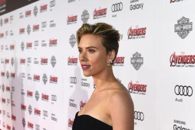 Scarlett Johansson at Avengers premiere