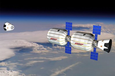 space hotel spacex bigelow aerospace ISS