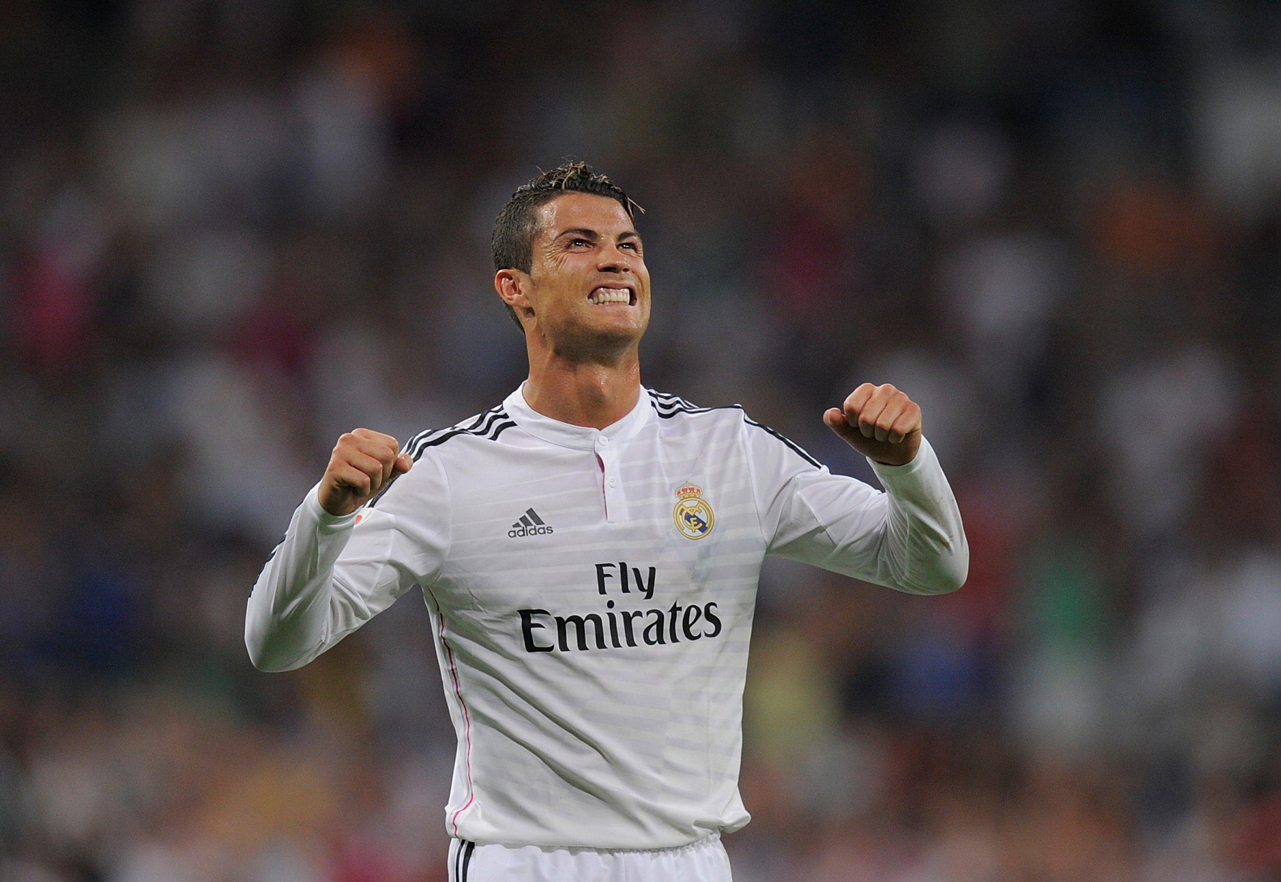 Cristiano Ronaldo in August 2014