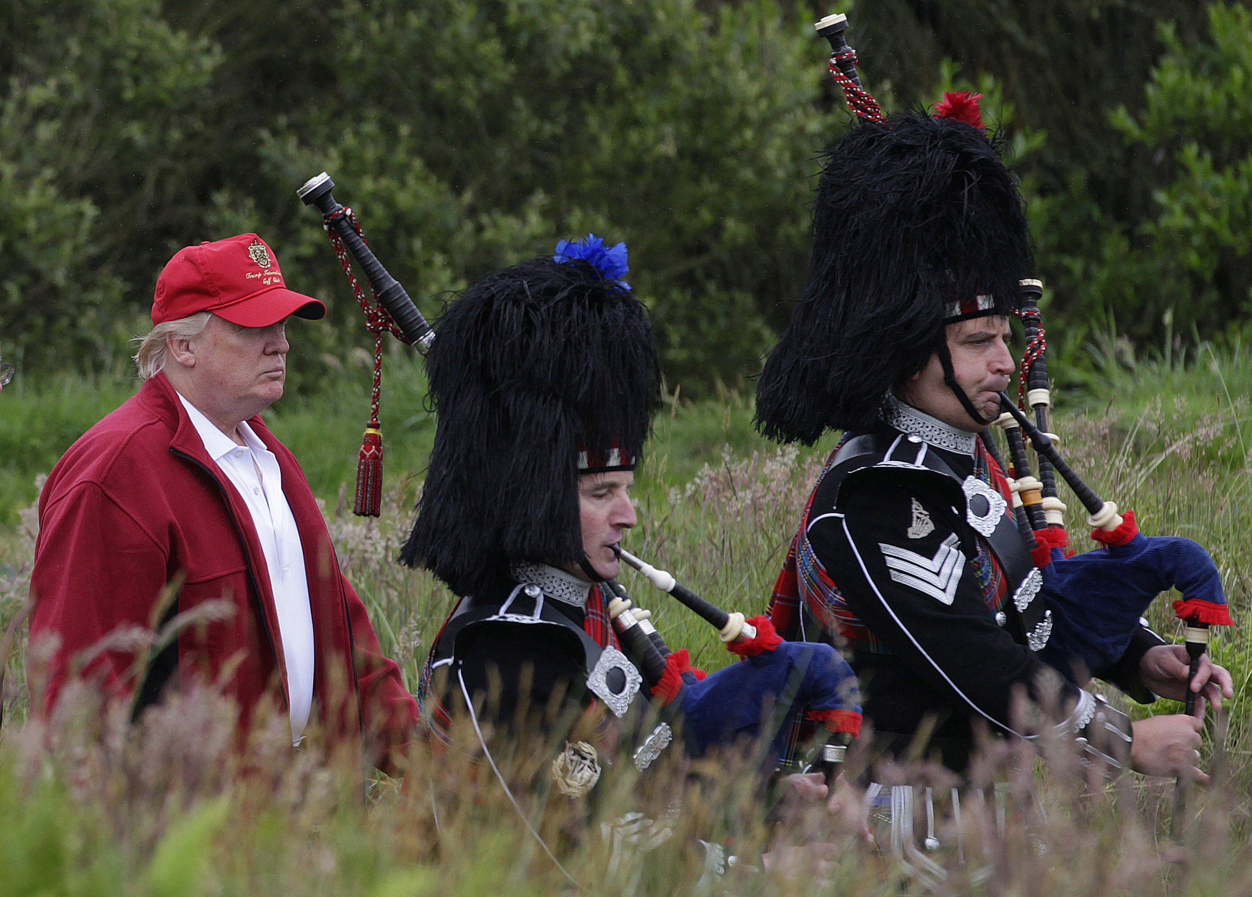 Trump: Scottish Golf Course Prepared Me For White House Race