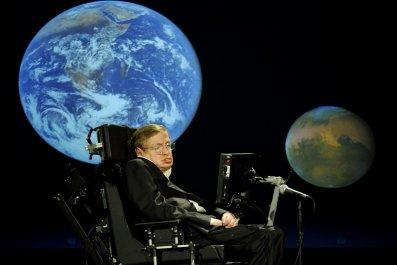 Stephen Hawking Alien starshot yuri milner