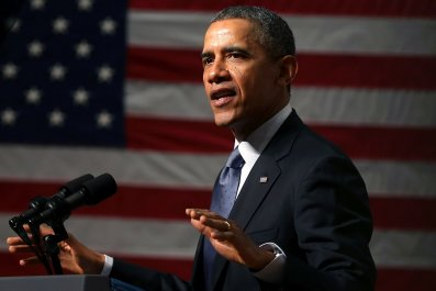 Barack Obama at Bladensburg High School