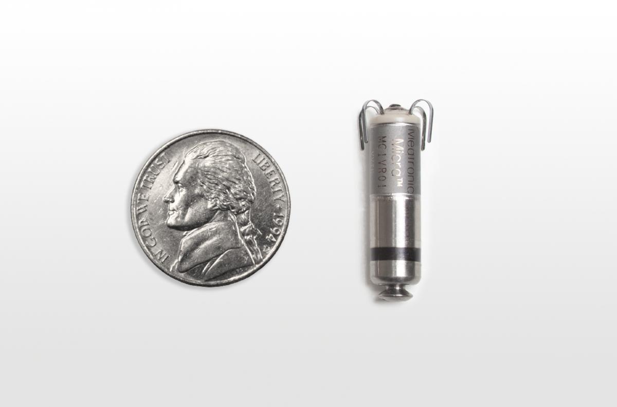 smallest pacemaker surgery FDA transcatheter