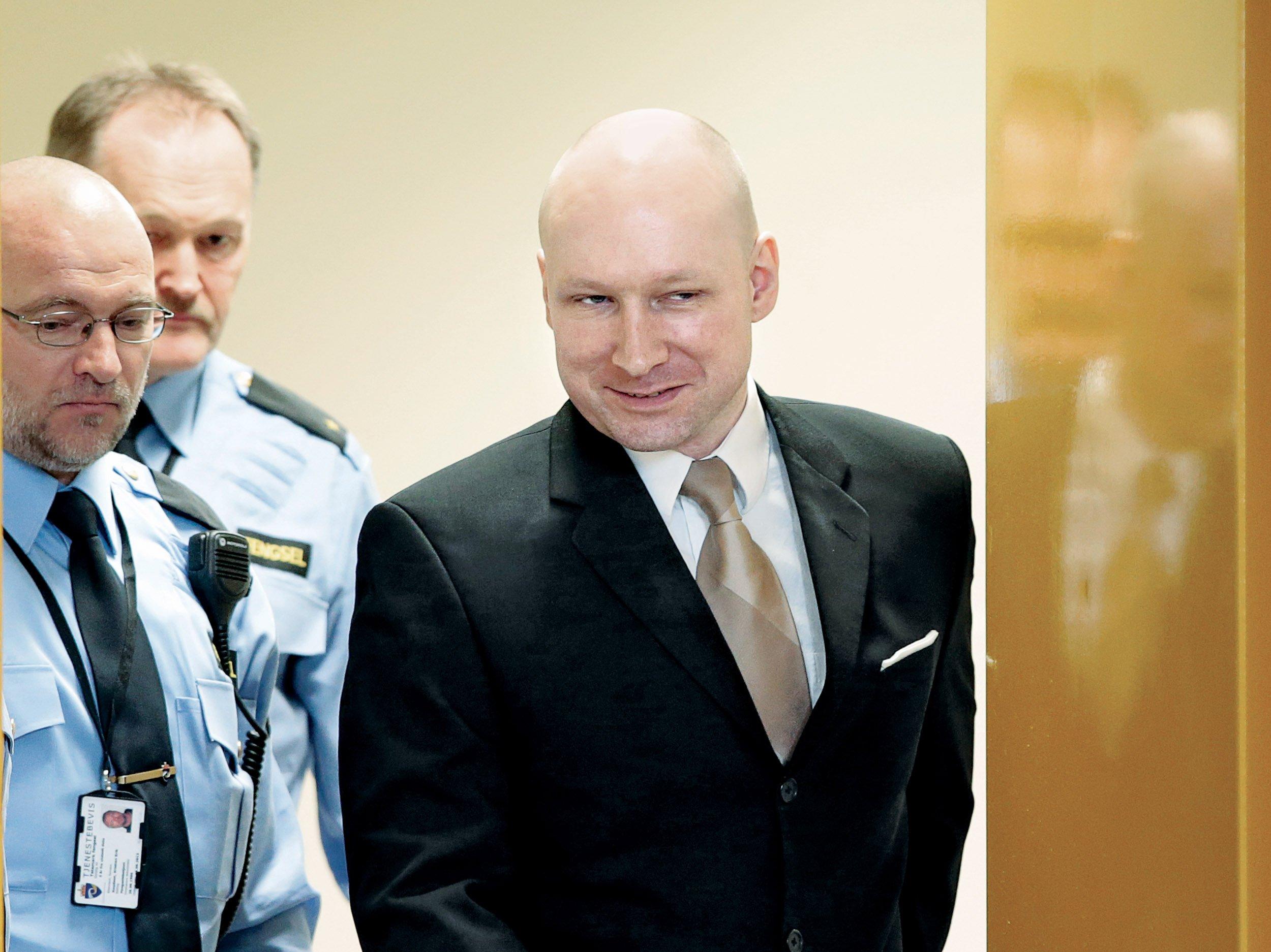 Breivik Photo: Is Norwegian Mass Murderer Anders Breivik Still A Threat