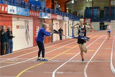 Armory NYC Indoor Marathon 4
