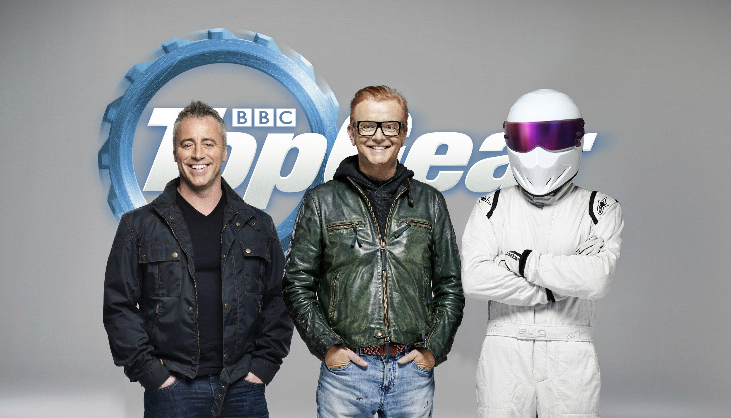 Top Gear hosts Chris Evans and Matt LeBlanc