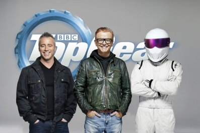Top Gear hosts Chris Evans and Matt LeBlanc