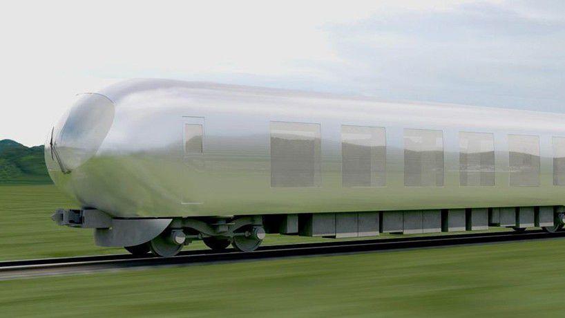 invisible train transparent japan Kazuyo Sejima Sanaa